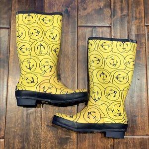 LL Bean Rain Boots Women's Size 6 Great Condition